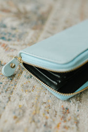 The Perfect Clutch in Mint Blue