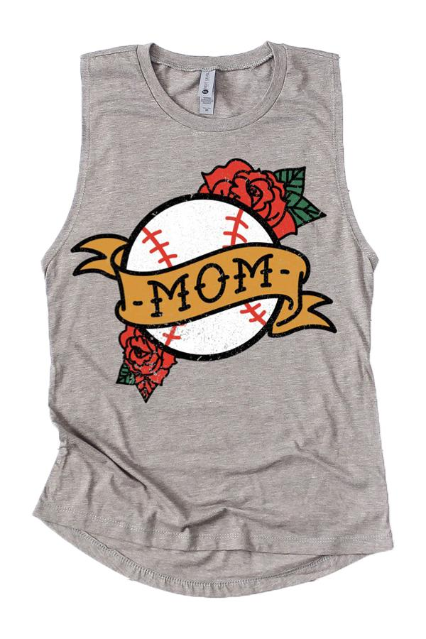 PREORDER: Baseball Mom Tank