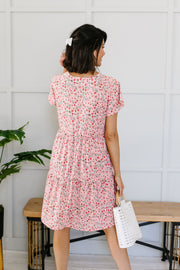 Ditsy Floral Tiered Dress