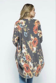 Cocoon Cardi with pockets