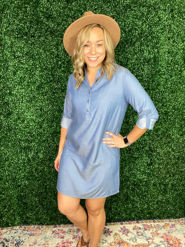 Denim Days Dress
