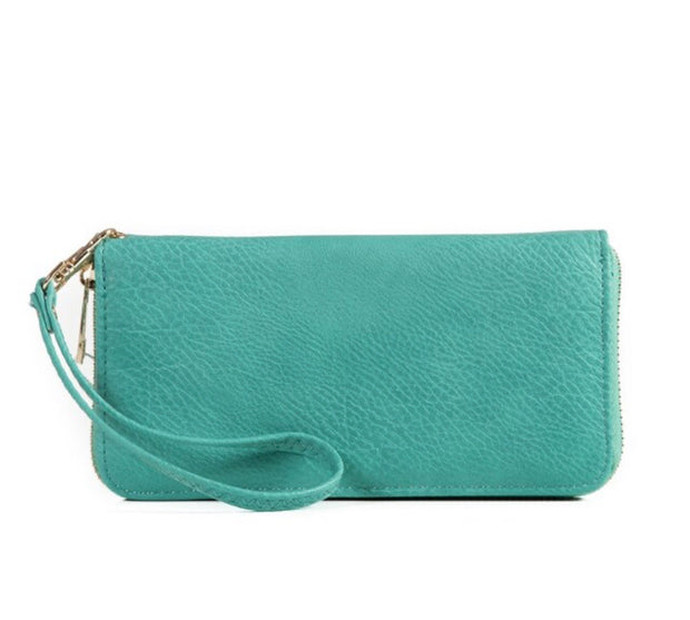 Single Zip Long Wallet