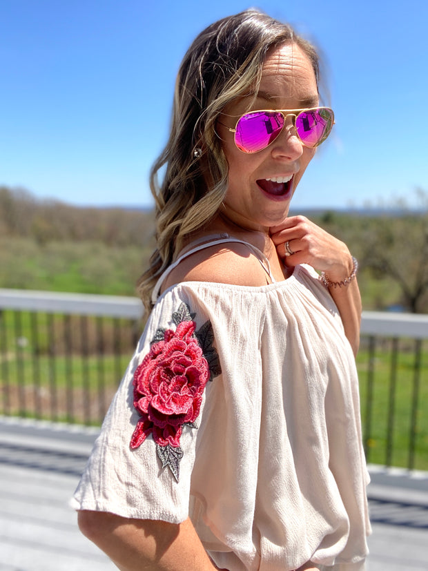 Layered Rose Tunic