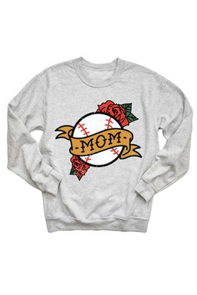 PREORDER: Baseball Mom Sweatshirt