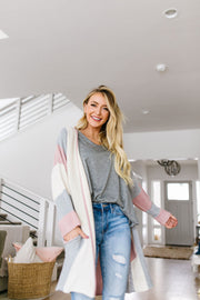 Rosy Outlook Cardigan