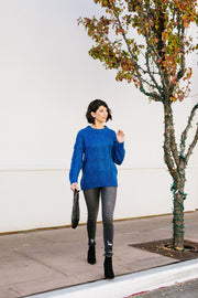Willing & Able Cable Knit Sweater