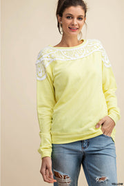 Terry Me Sunshine Top