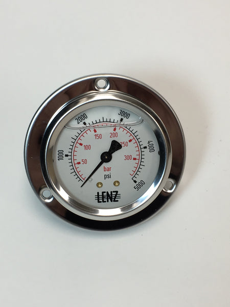 5000 PSI FLANGE GAUGE