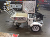 Used plaster stucco pump HZ30G