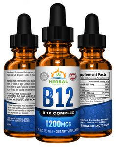 B-12 Complex | 2 Fl Oz. | Herbal Extracts