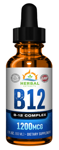 B-12 Complex | 60 Capsules | Herbal Extracts