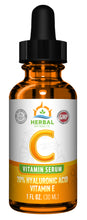 Load image into Gallery viewer, Vitamin C Serum | 1 Fl Oz. | Herbal Extracts
