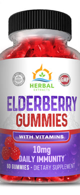 Immune Support Vitamin Gummies | Herbal Extracts