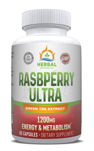 Raspberry Ketone Ultra | 60 Capsules | Herbal Extracts