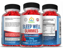 Load image into Gallery viewer, Sleep Aid Gummies | Herbal Extracts