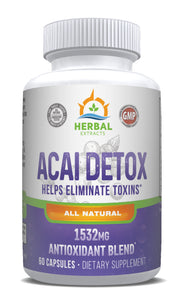 Acai Berry Extract Complex | 60 Capsules | Herbal Extracts