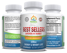 Load image into Gallery viewer, Best Sellers Fat Burner | 60 Capsules | Herbal Extracts