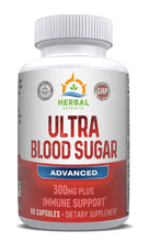 Load image into Gallery viewer, Ultra Blood Sugar | 60 Capsules | Herbal Extracts