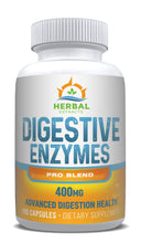 Load image into Gallery viewer, Digestive Enzymes Pro Blend | 60 Capsules | Herbal Extracts