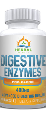 Digestive Enzymes Pro Blend | 60 Capsules | Herbal Extracts