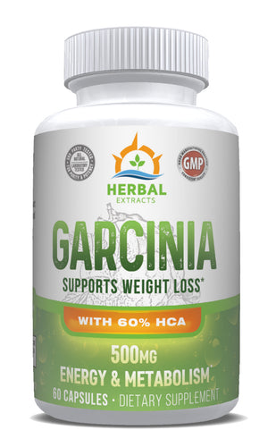 Garcinia Complex 500 Mg | 60 Capsules | Herbal Extracts