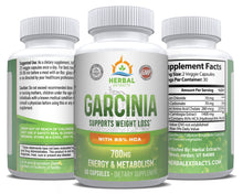 Load image into Gallery viewer, Garcinia Complex 700 Mg | 60 Capsules | Herbal Extracts