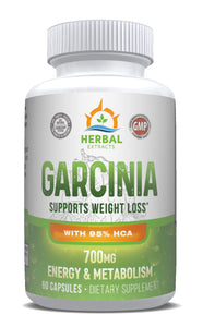 Garcinia Complex 700 Mg | 60 Capsules | Herbal Extracts