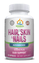 Load image into Gallery viewer, Hair Skin & Nails Advanced | 60 Capsules | Herbal Extracts