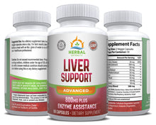 Load image into Gallery viewer, Liver Support Advanced | 60 Capsules | Herbal Extracts