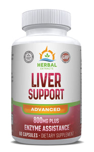 Liver Support Advanced | 60 Capsules | Herbal Extracts