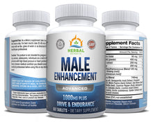 Load image into Gallery viewer, Male Enhancement Advanced | 60 Capsules | Herbal Extracts