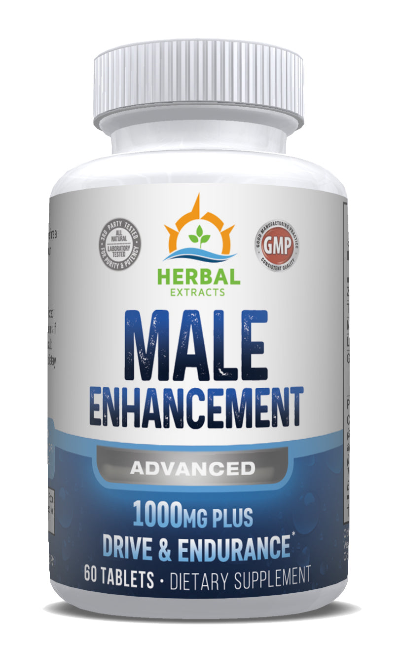 Male Enhancement Advanced | 60 Capsules | Herbal Extracts