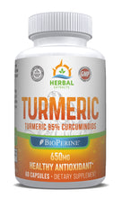 Load image into Gallery viewer, Turmeric Extract | 60 Capsules | Herbal Extracts