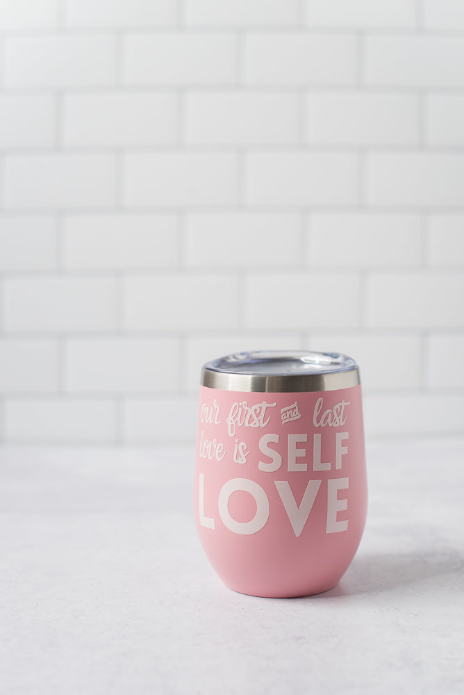 Self Love Wine Tumbler