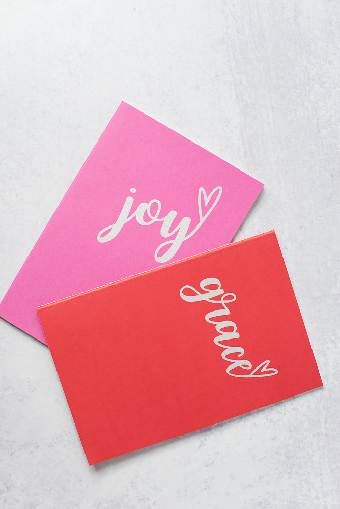 Grace & Joy Journal Set