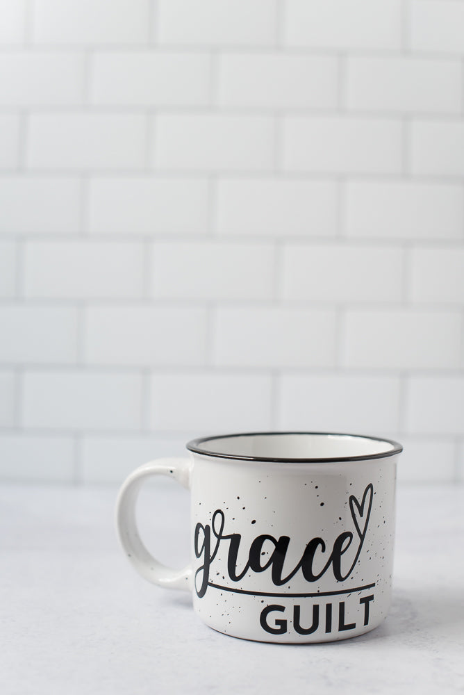 Grace Over Guilt Campfire Mug