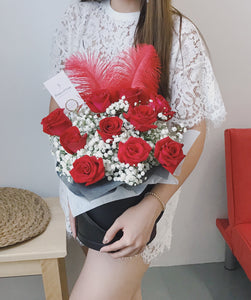 Red Roses Bucket - Singapore Online Florist