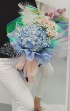 Load image into Gallery viewer, Hydrangea-Rose Mix Bouquet