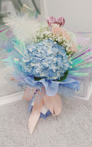 Hydrangea-Rose Mix Bouquet