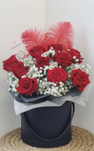 Load image into Gallery viewer, Rose Bloom Bucket (Red Roses)