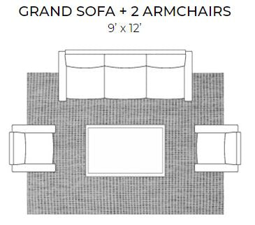 area rug living room for grand sofa and 2 arm chairs with 9 x 12 area rug
