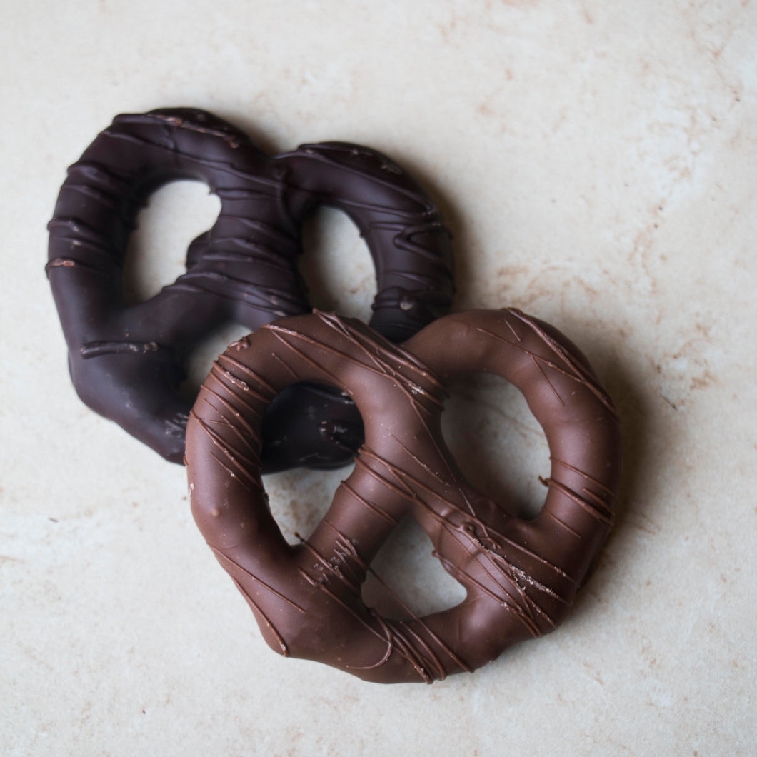 Chocolate Dipped Pretzels - 5 Pack