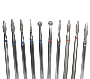Nail drill bit shapes and uses explained