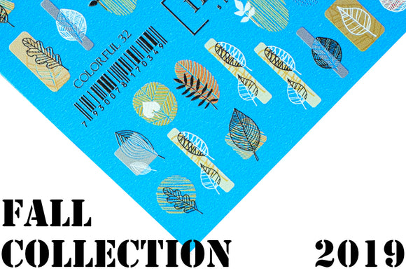 IBDI Fall 2019 nail decals collection