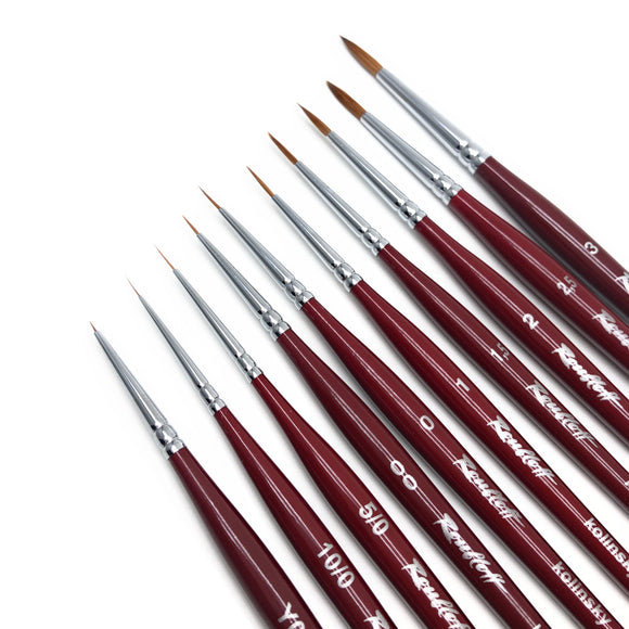 Roubloff nail art brushes for gel polish manicures and pedicures