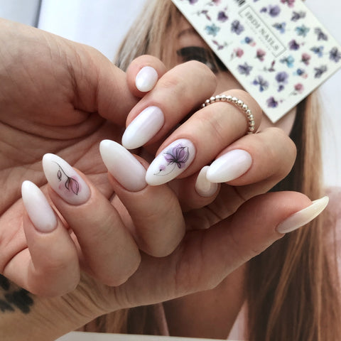 IBDI summer nail decals