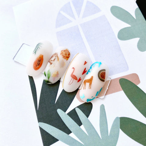 Cool nail decals for nail art!