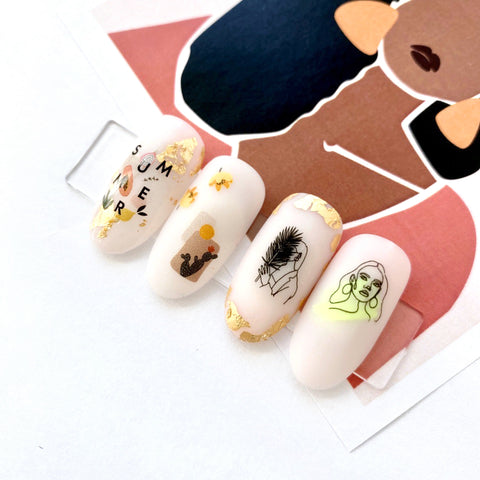 IBDI waterslide nail decals for manicures and pedicures