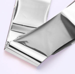 Beautiful silver foil to add to any manicure or pedicure for sensational nail art