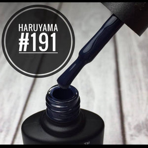 High quality Haruyama Navy Blue gel polish for manicures and pedicures